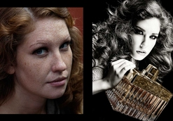 relooking femme rousse