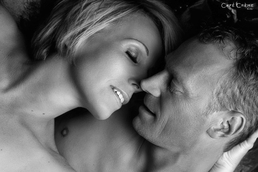 Shooting photo professionnel de couple homme et femme