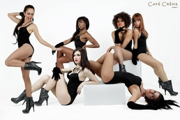 shooting photo groupe de danseuses